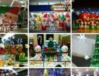 圣诞、元旦商场店铺气氛气球装饰布置