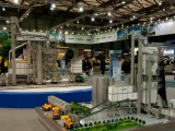 湖南中教盾构机模型,起重机模型,建筑施工模型