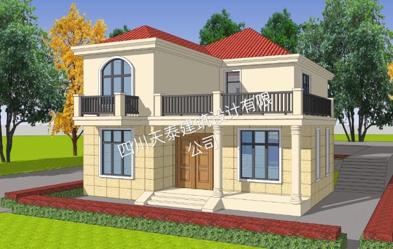 南充西充自建房 别墅 小洋房 乡镇房屋 景观设计及施工