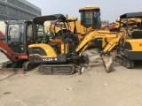 私人出售二手玉柴35挖机 二手日立20小挖机