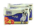 纸尿裤贝肯熊纸尿裤S34片 亲肤极柔小码尿不湿 加赠4片 会员特