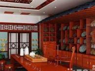 茶店铺装修公司,铺面专业装饰,最好成都茶叶店设计