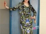 13欧美高端秋季新款女装范冰冰同款长袖衬衫+半身裙套装V11-2