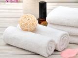 厂家批发定制酒店一次性白毛巾35克劳保清洁日用品毛巾素色毛巾