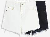 牛仔短裤女 牛仔裤女弹力高腰牛仔短裤韩国东大门女士牛仔裤 女式
