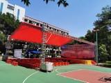 禅城庆典布置陶瓷会展绗架背景水雾风扇吧台吧椅洽谈桌椅空调扇