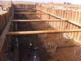 信阳钢板桩施工,信阳租赁拉森桩打拔支护,钢板桩租赁出售围堰