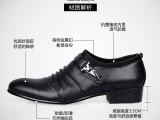 2014新款时尚男鞋批发 休闲男鞋韩版 英伦男鞋 尖头皮鞋男鞋代