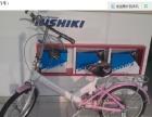 全新自行车 出口日本减震折叠自行车 20寸男学生 单车 清仓