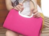 【雄星包包】新款定型包时尚女士包包英伦复古简约休闲手提女包