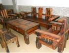 广东中山老船木家具厂,批发零售实木家具