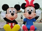 东莞厂家直销  世界杯吉祥物气模/光头强气模/熊大气模/米奇气模