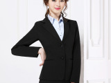 韩版通勤OL面试商务正装女西装制服 职业修身女士西服工作服套装
