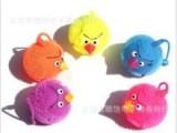 愤怒的小鸟 闪光弹力毛毛球 发光玩具 夜市地摊热卖 ,儿童玩具
