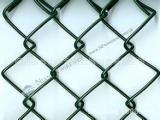 厂家直销篮球场铁丝网围网 包塑勾花网 养殖场专用围栏网铁丝网