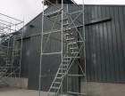 天津速安捷厂家直销48盘扣镀锌安全爬梯(挂梯拔2.0米)