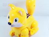新款大号上链大花猫 发条猫批发 义乌地摊热卖玩具