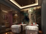 武汉高档美容院装修设计 专业美容院室内装修设计 工装公司