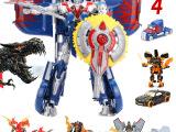 **变形金刚4擎天柱**版机器人模型玩具车变型大黄蜂礼物
