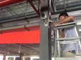 深圳安装监控摄像头的公司,松岗工厂监控安装,网络布线