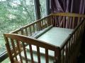纯实木可拆卸婴儿床