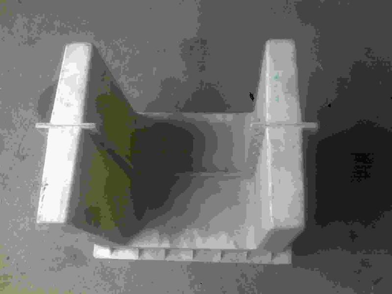 铁路线路安全保护区A桩模具