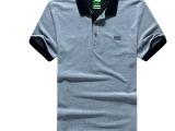 夏季户外BOSS新款男户外速干T恤男式短袖T恤短袖POLO衫翻领