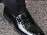 秋季新款 真皮男鞋流行男士商务皮鞋 正装皮鞋休闲皮鞋爸爸鞋代发