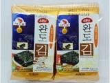 韩国进口莞岛 油烤  岩烧海苔 即食紫菜2g*10*40