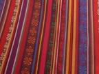供应 丽江布 商店装饰用布料 民族条纹色织布料 土布