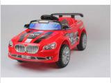 新款宝马乐的835霹雳警车儿童电动遥控车可骑可坐宝宝童车