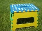 【厂家直销】折叠凳 塑料折叠凳 可承重1
