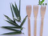 【诚信商家】供应外贸尾单精美环保竹制餐叉 做工精细低碳竹叉
