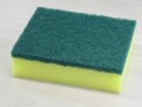 福莱德厨房清洁去污耐用加厚方块百洁布海绵 洗碗海绵擦一件代发