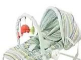 婴儿摇摇椅 带玩具架,遮阳棚,U型枕,安全带 支架