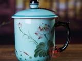 商会成立礼品茶杯,景德镇陶瓷杯子