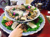 景德镇1米超大陶瓷海鲜分格大拼盘