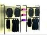 供应服装道具、展示架、不锈钢壁架一套