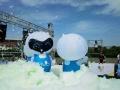柳州楼盘活动喷射泡沫机出售户外泡泡跑