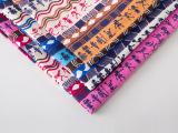 新款帆布布料沙发布料棉布印花DIY手工彩