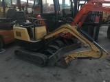 出售二手小松玉柴13,20小型挖机