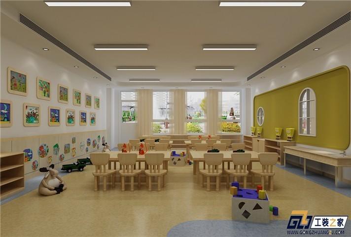 临潼幼儿园装修设计原则