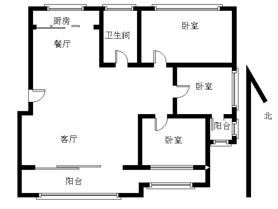 大纺金三角鹏辉新世纪 精装修3室2厅 2500元鹏辉新世纪