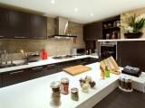 餐邊柜意式極簡家居現代簡約廚房柜子儲物柜玻璃櫥柜輕奢家具
