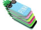 维多利亚的秘密 iphone5菠萝手机套 苹果4卡通硅胶手机壳批发