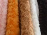 环保时尚纺织制衣布料复合纺织制衣布料南韩玫瑰玫瑰花PV绒毛绒布