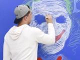 广州磁善家工厂批发无尘书写板大尺寸黛蓝色磁性彩色书写板