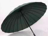 雨伞厂家现货 供应24K钢骨 超大伞晴雨伞 长柄伞超大防风商务广告