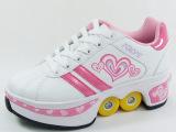 童款 安格卢特 变形鞋 工厂批发双排四轮两用轮滑暴走鞋溜冰鞋子