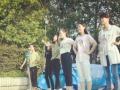 南阳艺行军教育 播音主持艺术培训 考前集训进行中